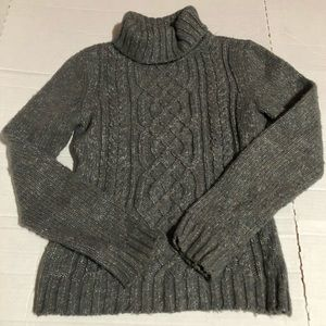 New York & Company Womens XS Gray Sweater